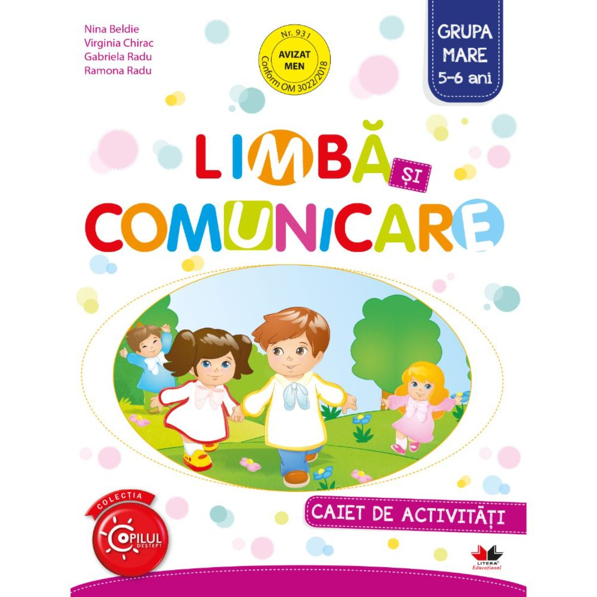 Limba si comunicare, Caiet de activitati, Grupa mare, 5-6 ani