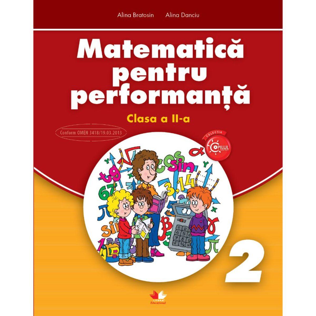 Matematica pentru performanta, Clasa a II-a