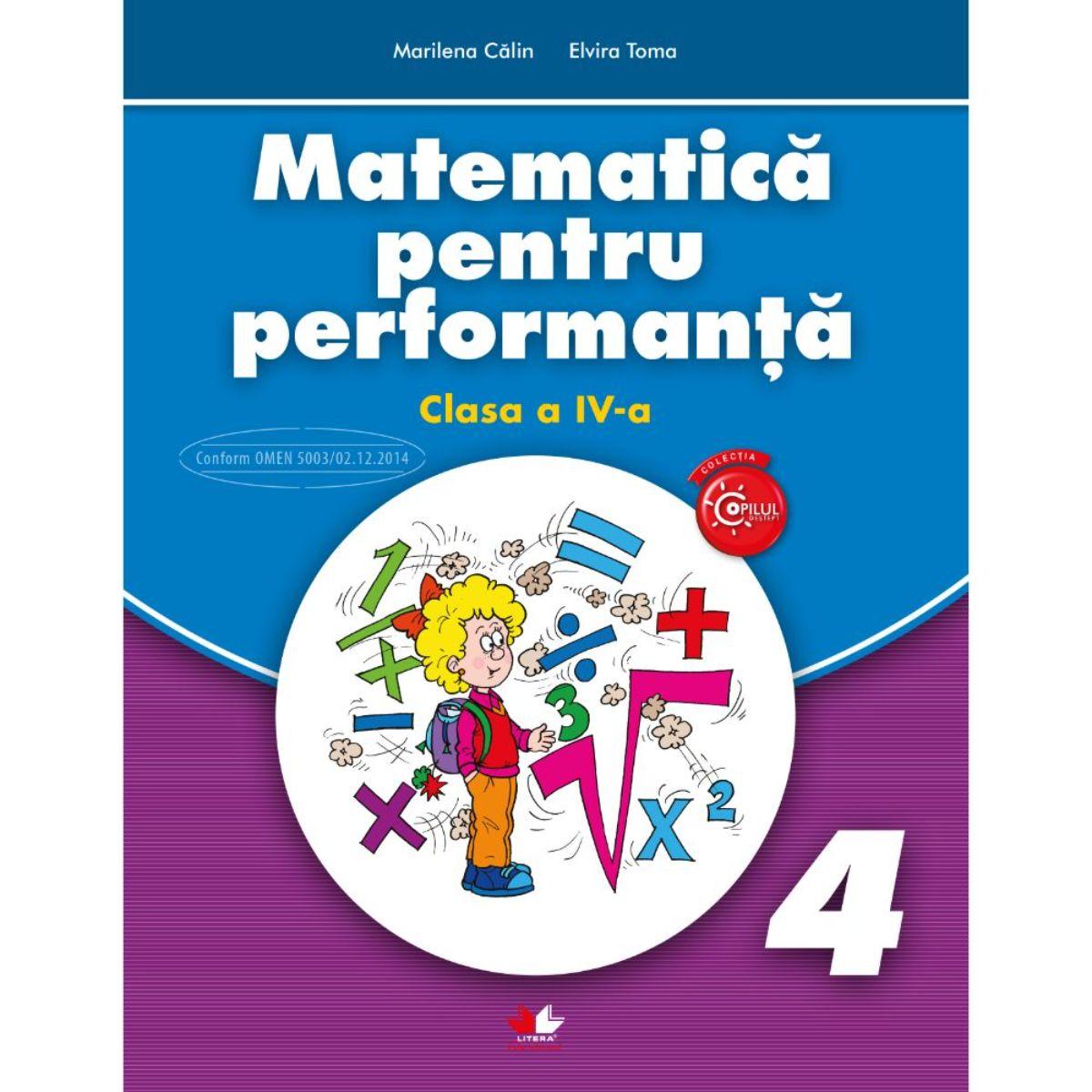 Matematica pentru performanta, Clasa a IV-a