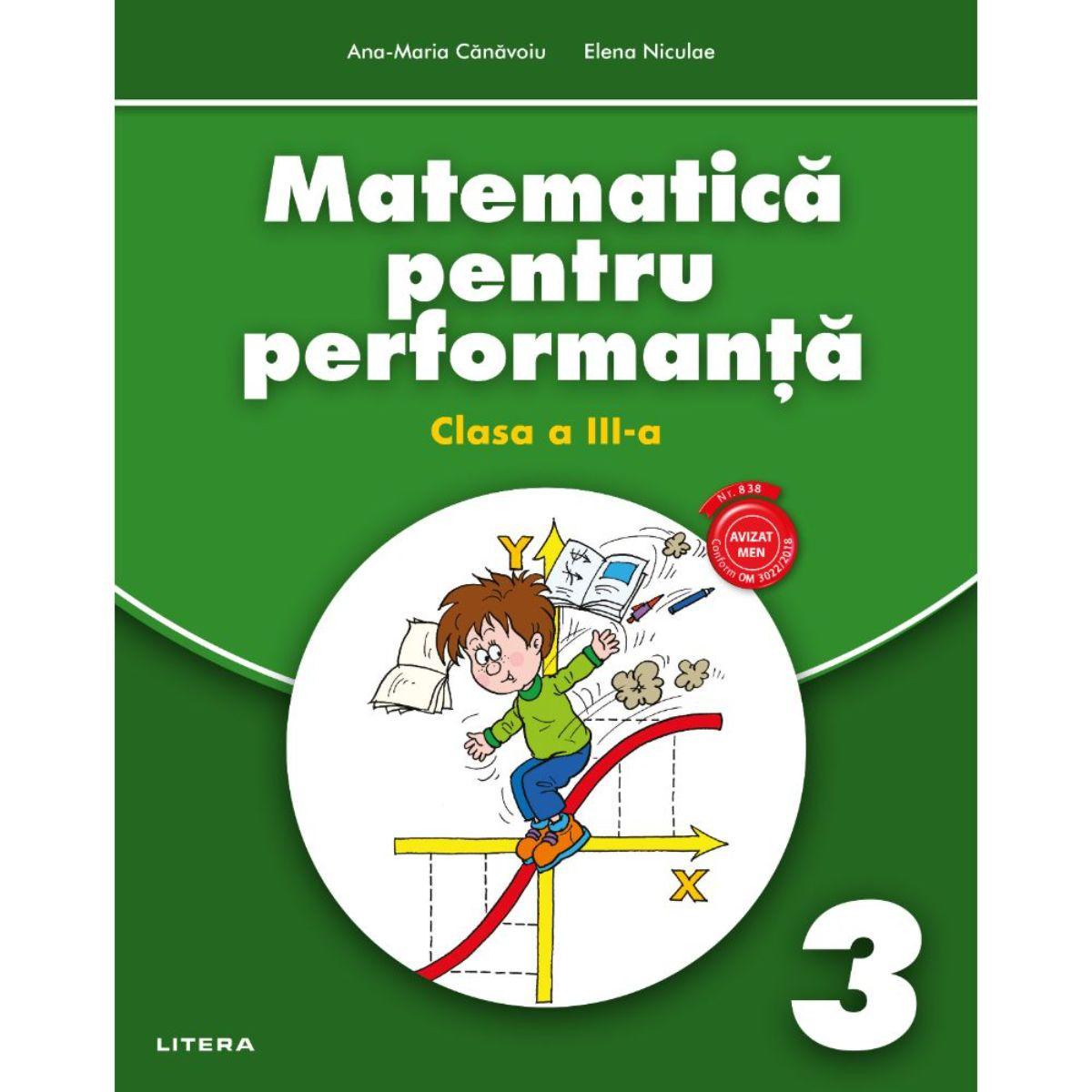 Matematica pentru performanta, Clasa a III-a