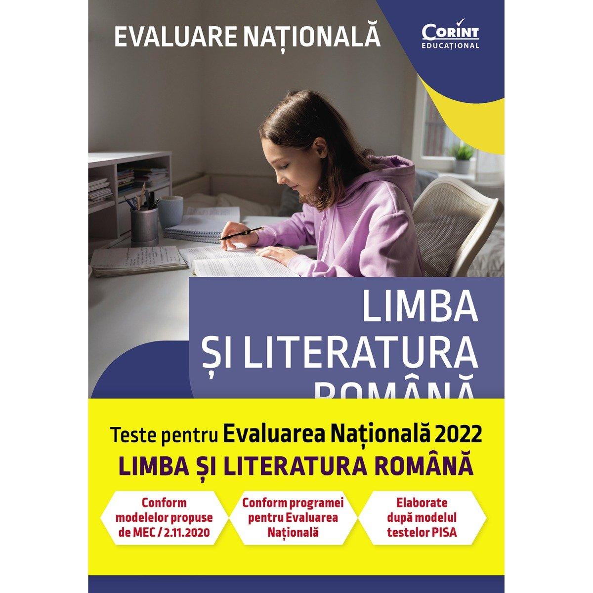 Evaluare nationala, Limba si literatura romana 2022, Andreea Nistor