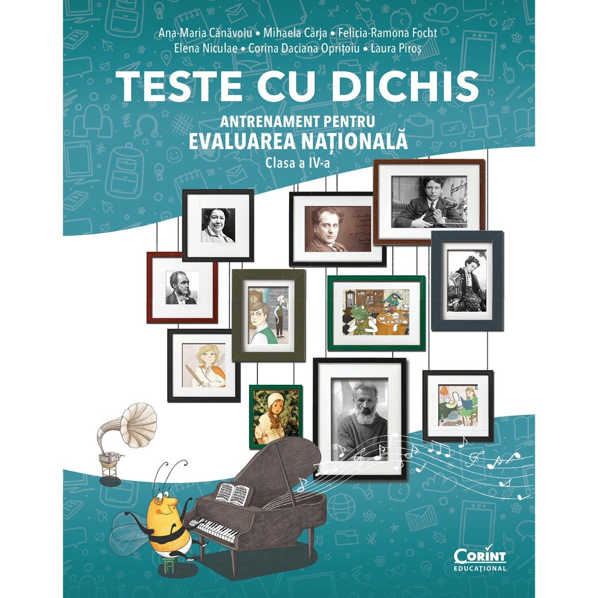 Teste cu dichis, Antrenament pentru evaluarea nationala, Clasa a IV-a, Ana-Maria Canavoiu