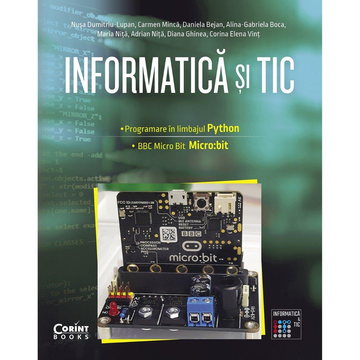Informatica si TIC, Programare in limbajul Python, BBC Micro Bit, Clasa a VII-a