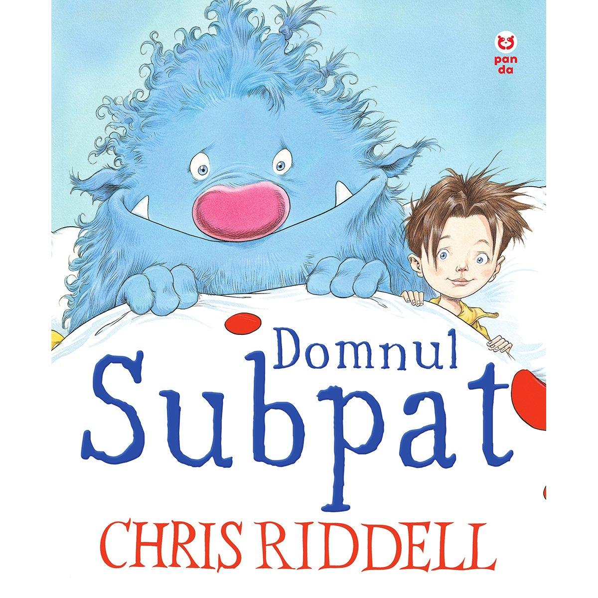 Carte Editura Pandora M, Domnul Subpat, Chris Riddell