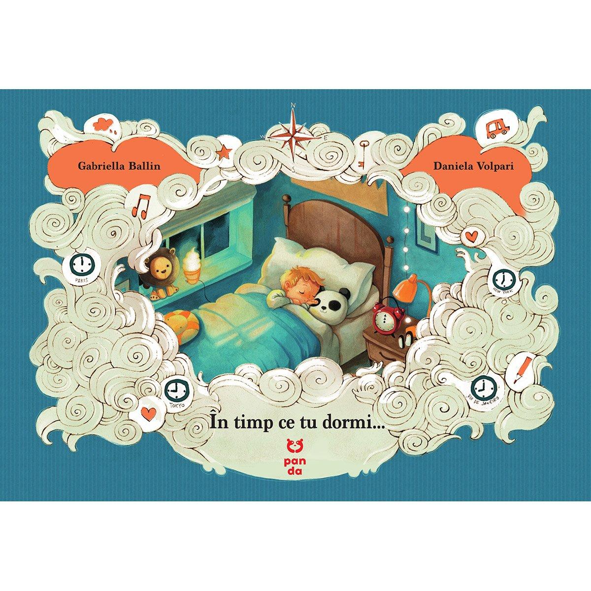 Carte Editura Pandora M, In timp ce tu dormi..., Gabriella Ballin