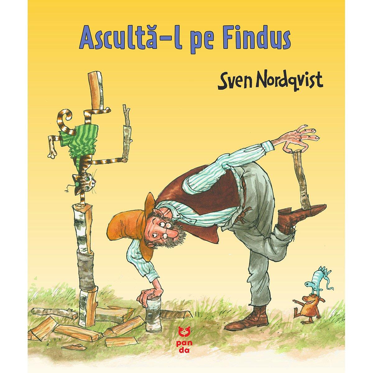 Carte Editura Pandora M, Asculta-l pe Findus, Sven Nordqvist