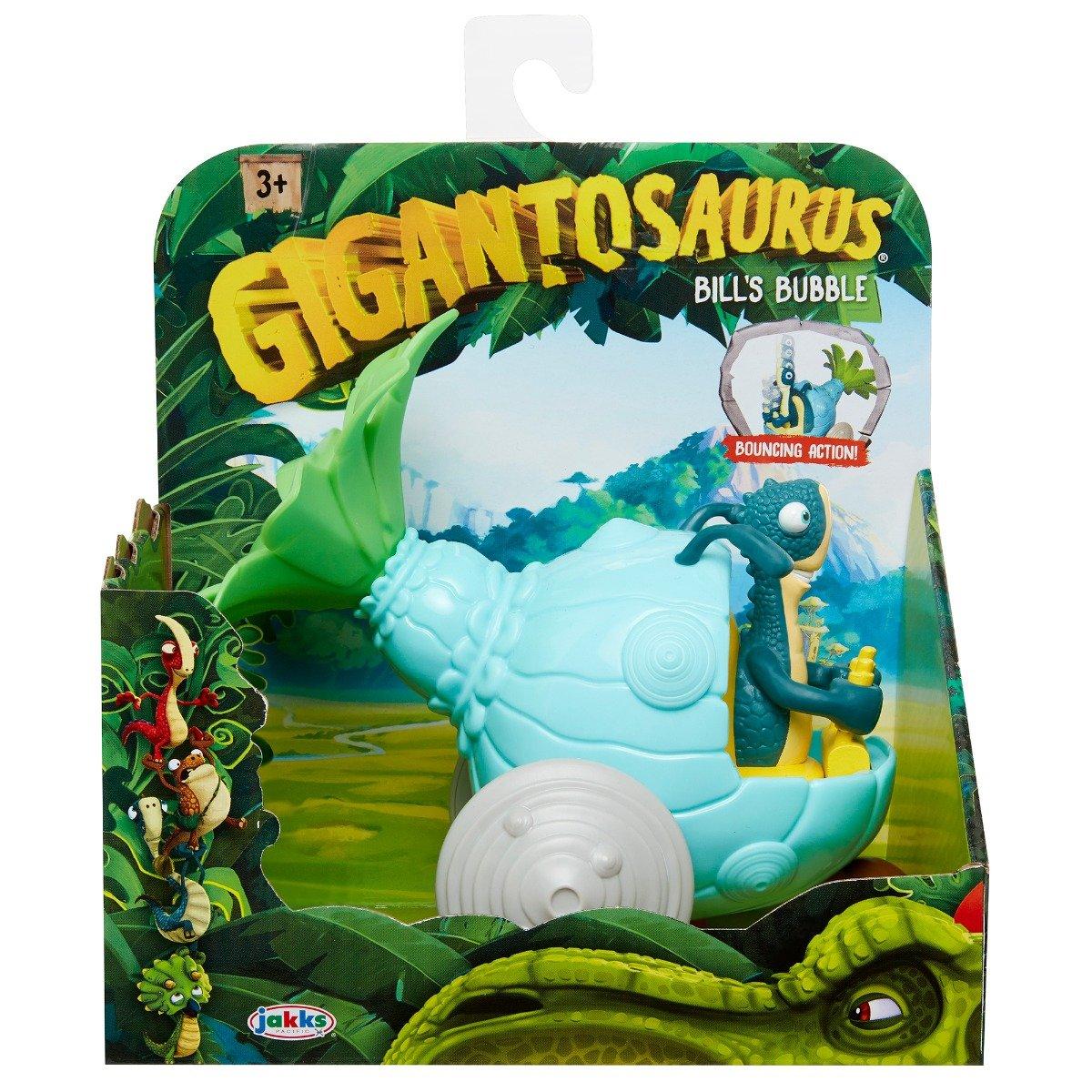Figurina cu autovehicul Gigantosaurus, Bill's Bubble