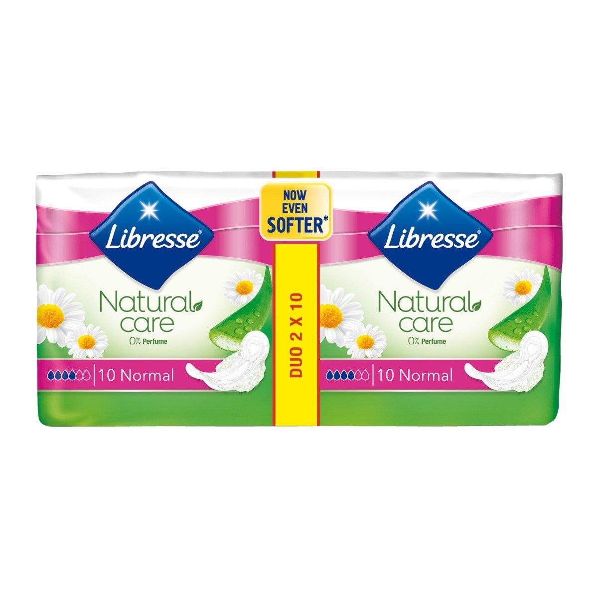 Absorbante Libresse Natural Care Ultra Normal, 20 bucati
