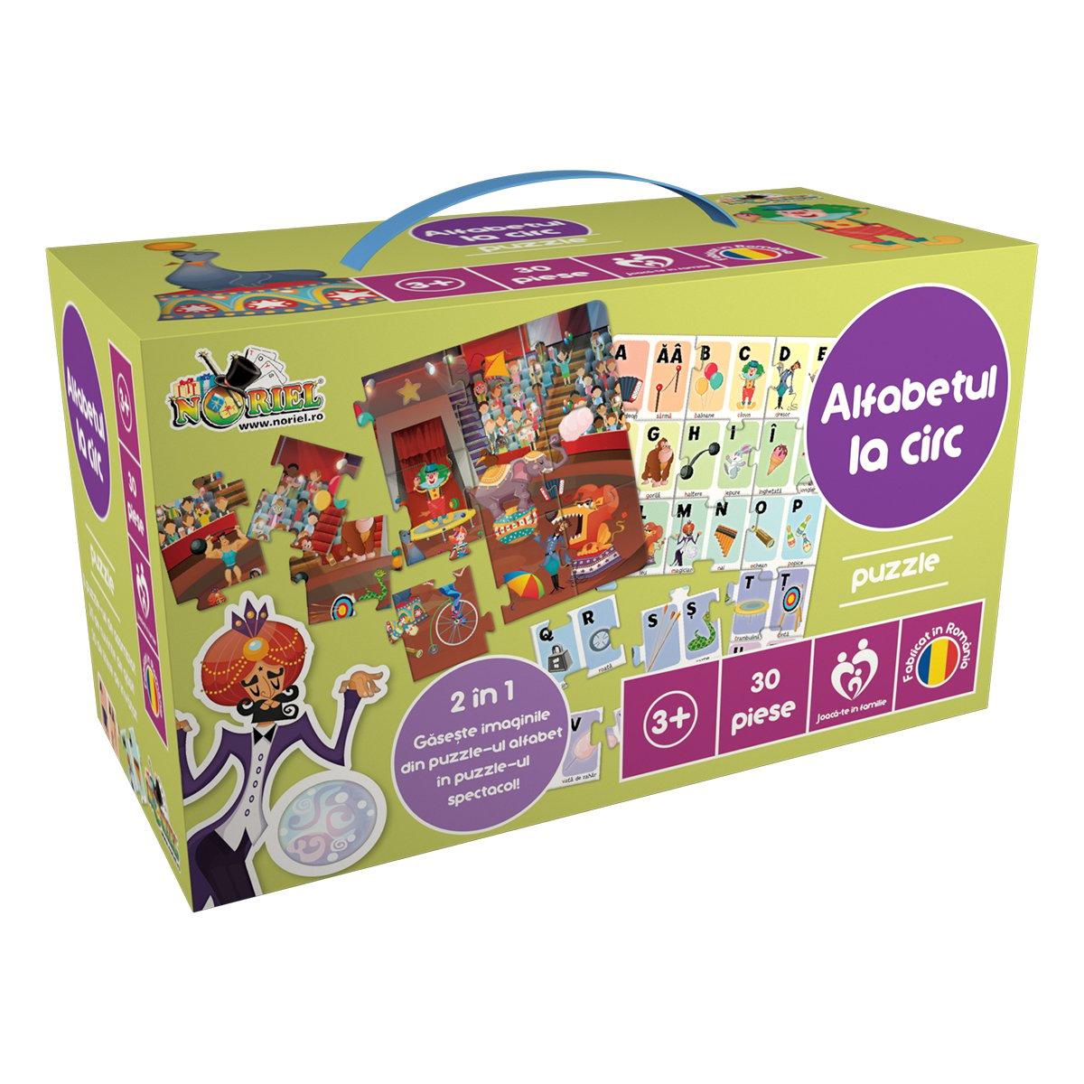 puzzle noriel - alfabetul la circ