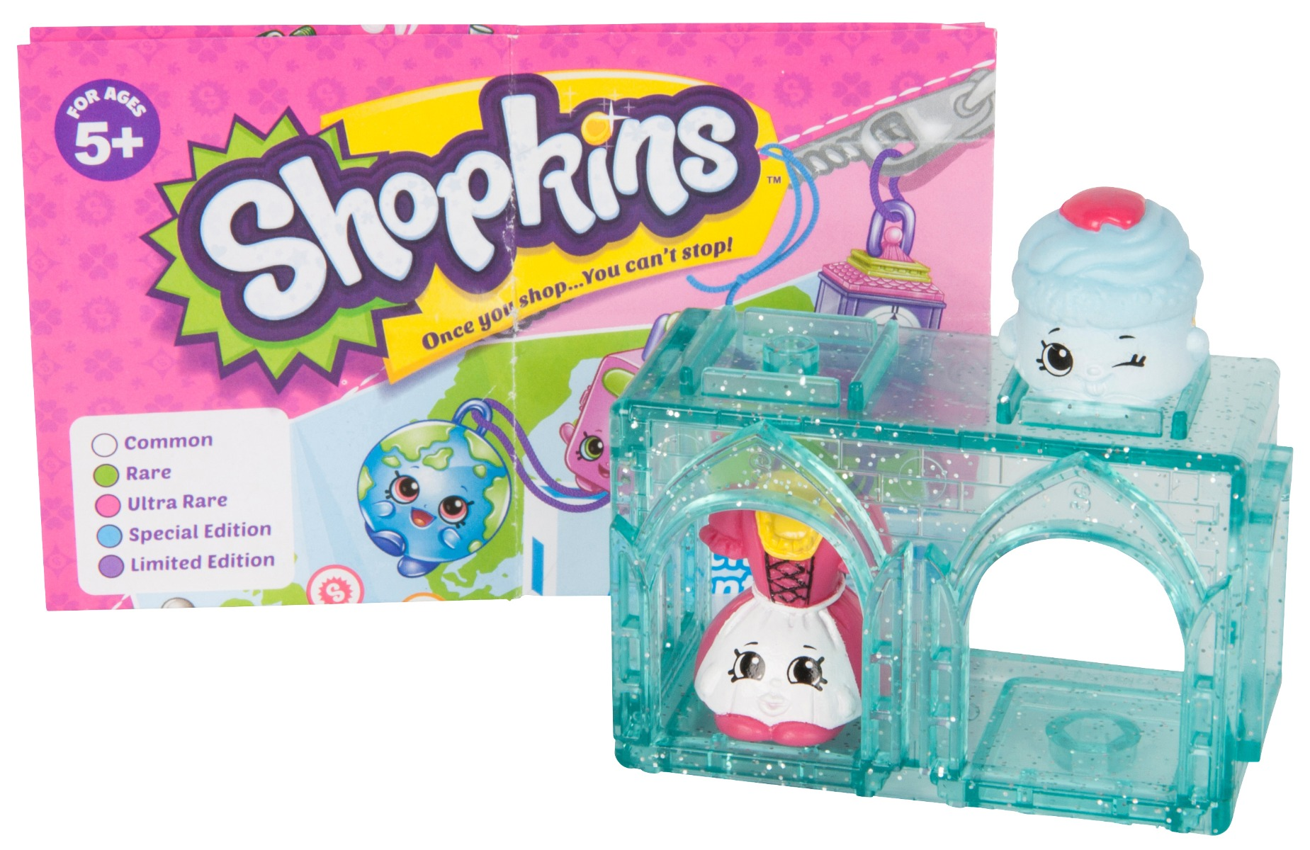 Pachet 2 figurine Surpriza Shopkins - colectia Europa