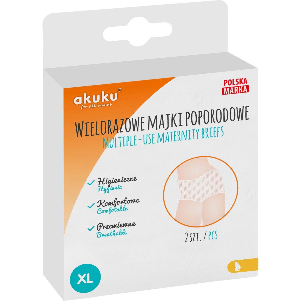 Set chiloti pentru gravide, unica folosinta Akuku, Marimea XL