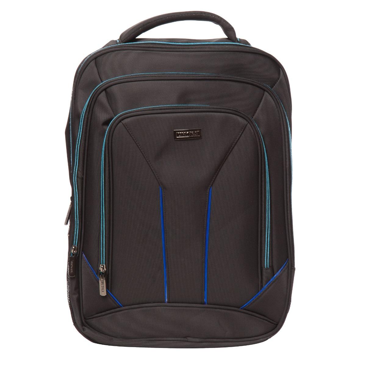 Rucsac pentru laptop Lamonza Toledo, Albastru, 42 cm imagine