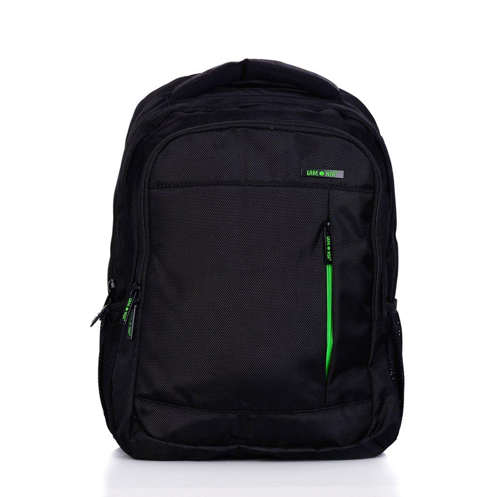 Rucsac pentru laptop Lamonza Crest, Verde, 43 cm imagine