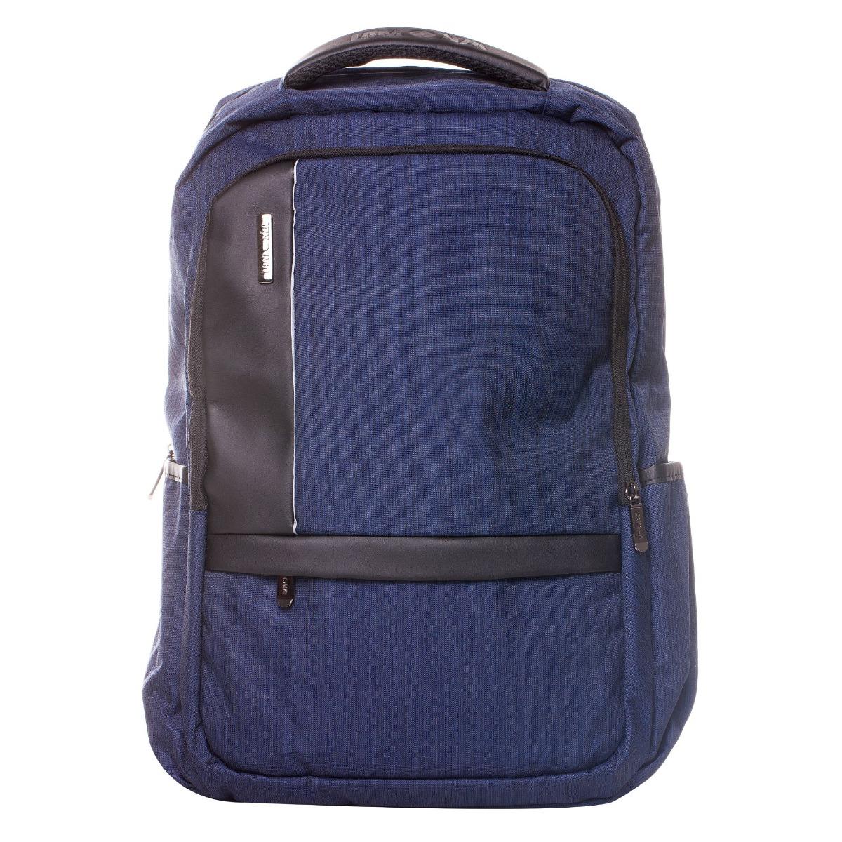 Rucsac pentru laptop Lamonza Pulse, Albastru, 46 cm imagine