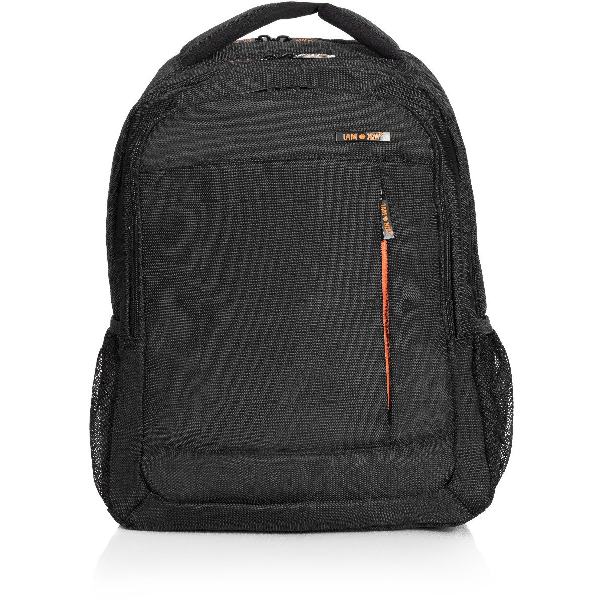 Rucsac pentru laptop Lamonza Crest, Portocaliu, 43 cm imagine