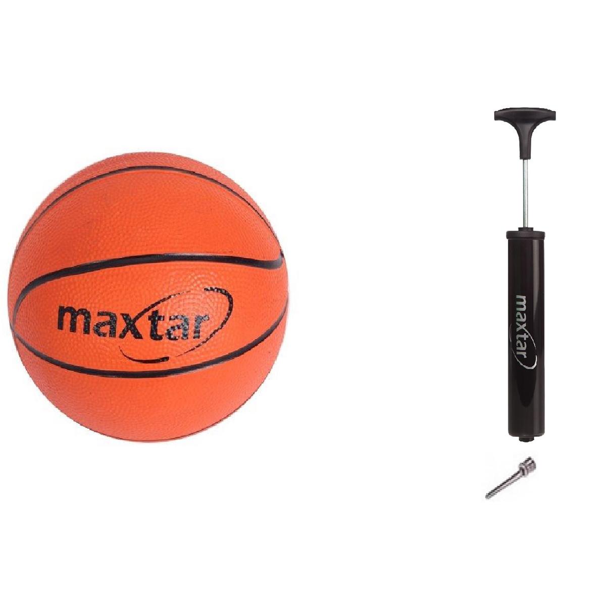 Set Minge de baschet cu pompa manuala Maxtar