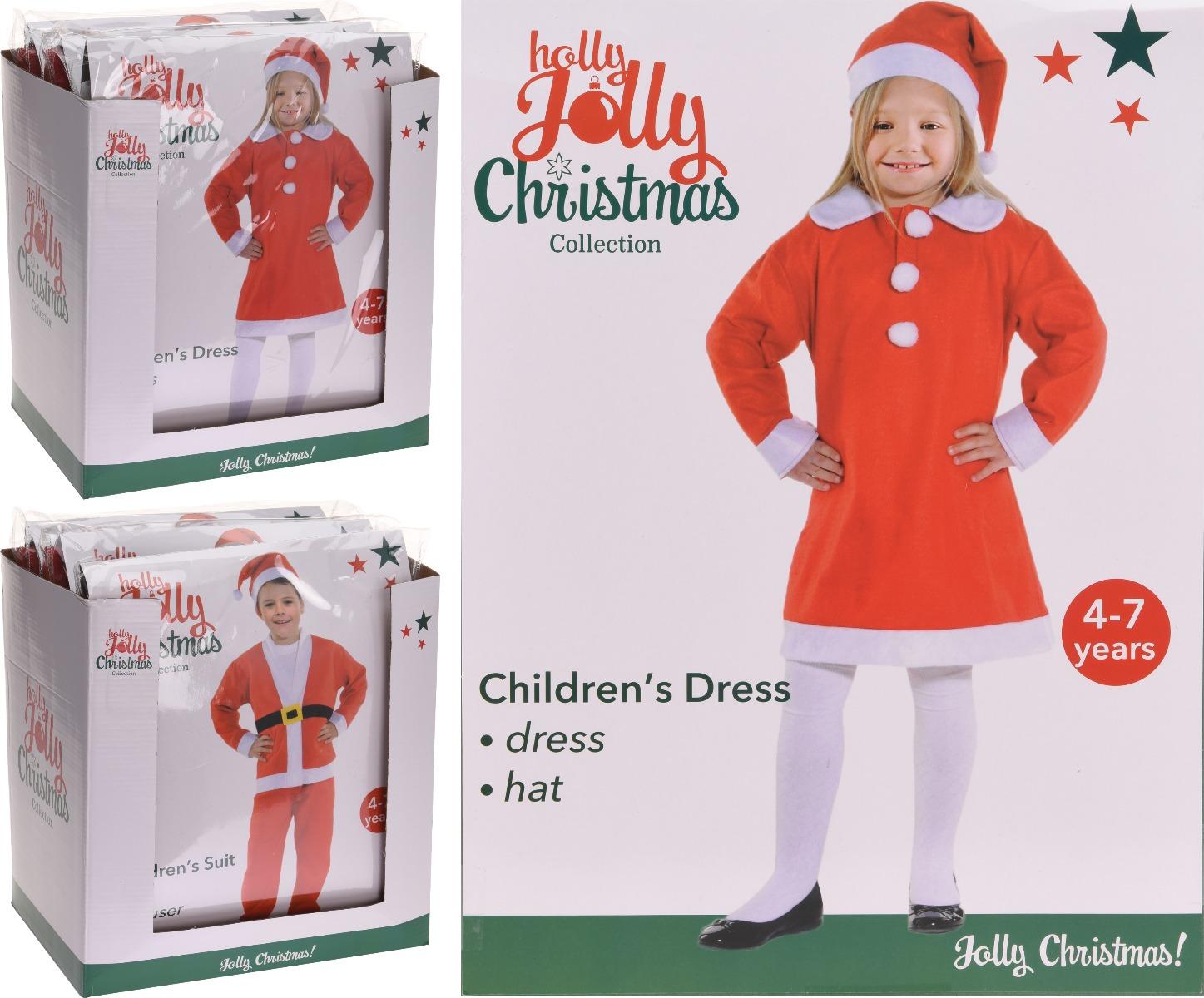 Costum Mos Craciun pentru copii imagine