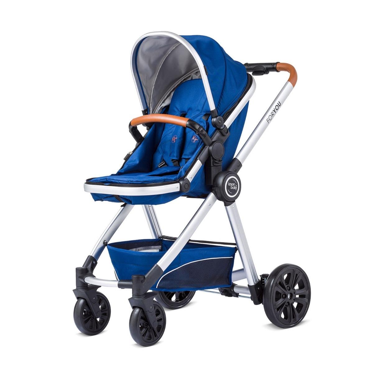 Carucior 2 in 1 Combi-Vagon For You Knorr, Albastru
