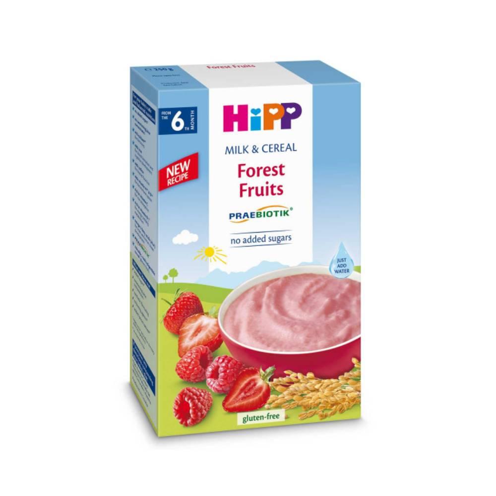 Cereale cu fructe de padure Hipp, 250 g, 6 luni+ imagine