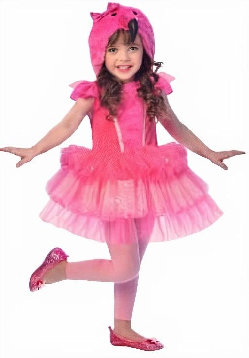 Costum de petrecere flamingo
