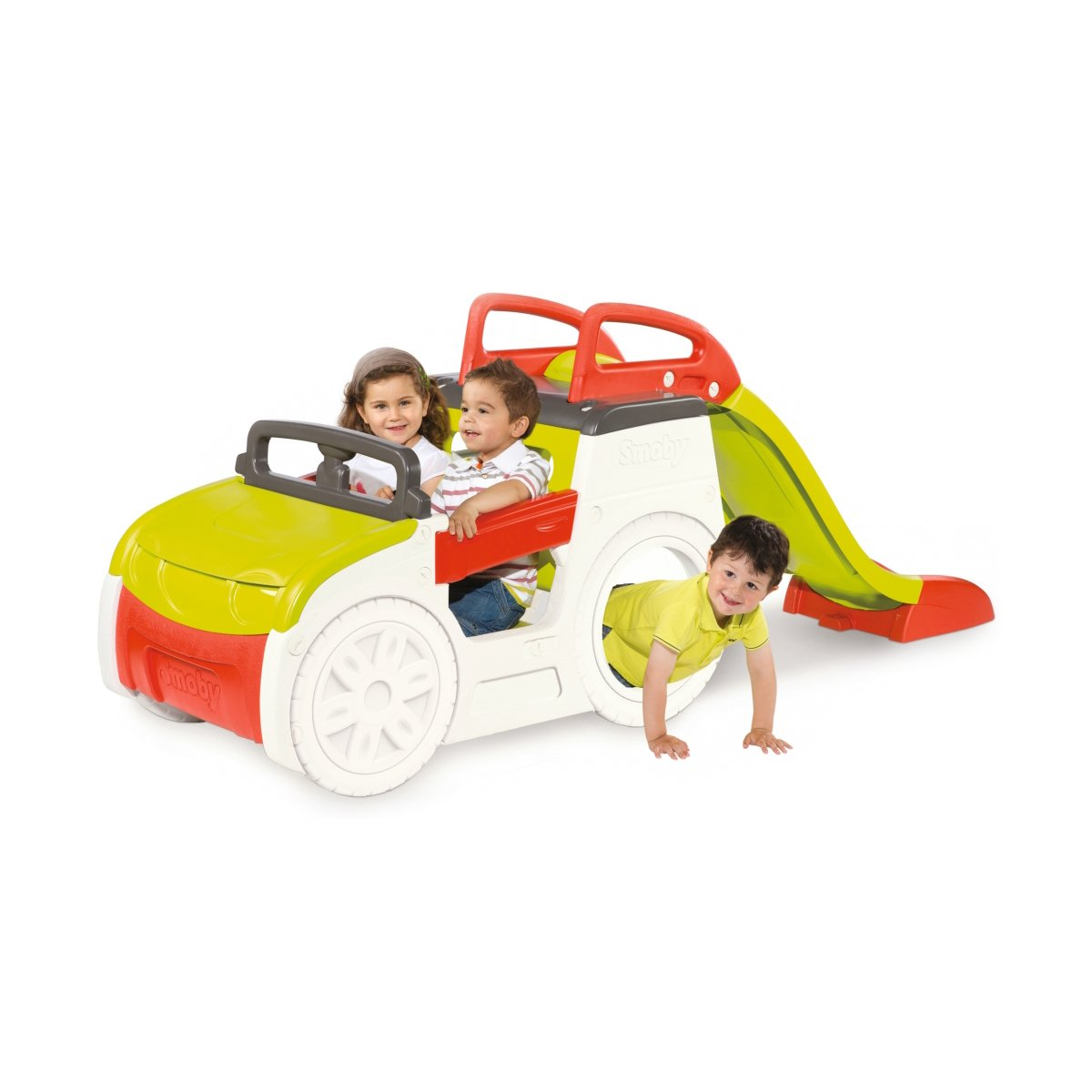 ansamblu de joaca smoby - adventure car
