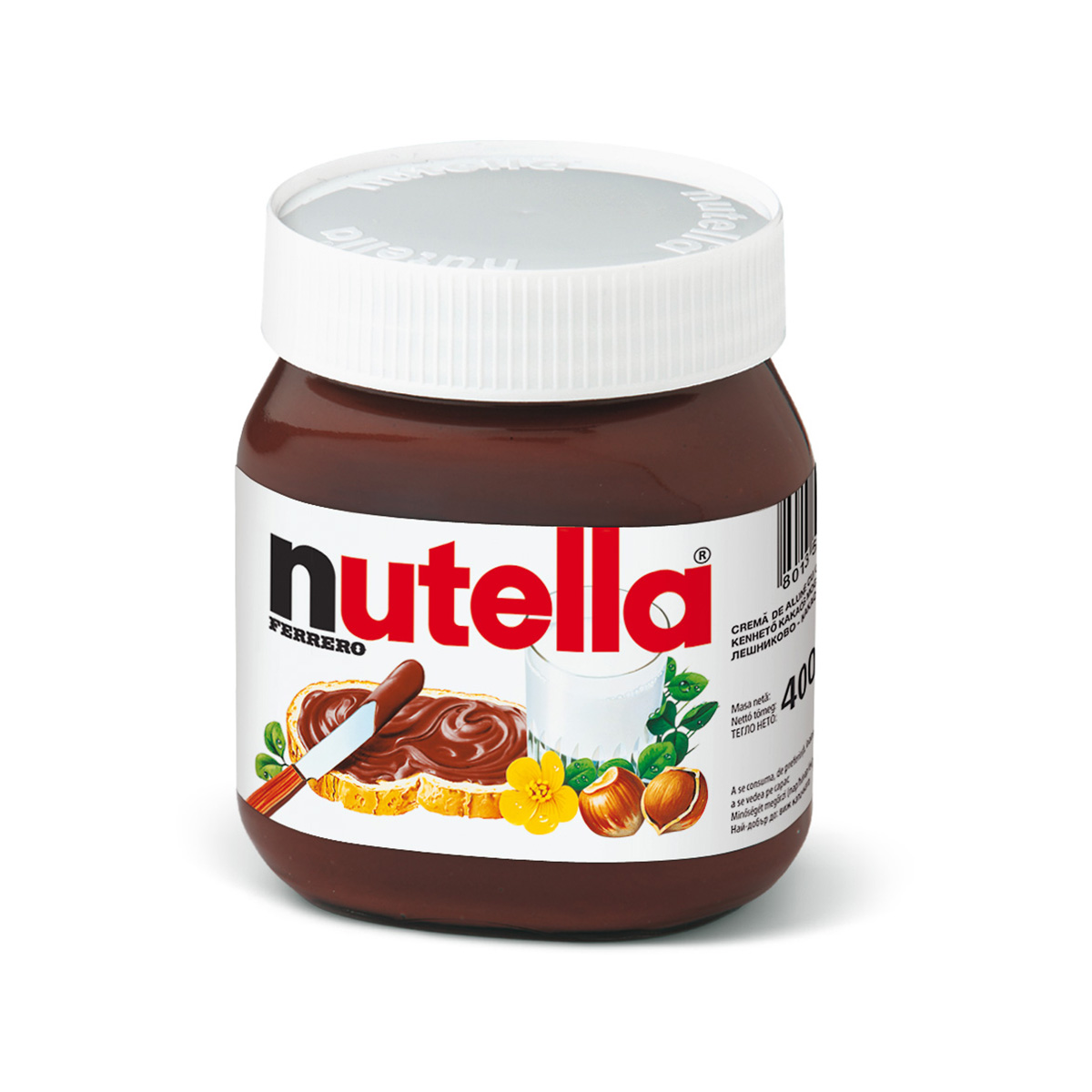 Crema de cacao cu alune Nutella, T400, 400 g imagine