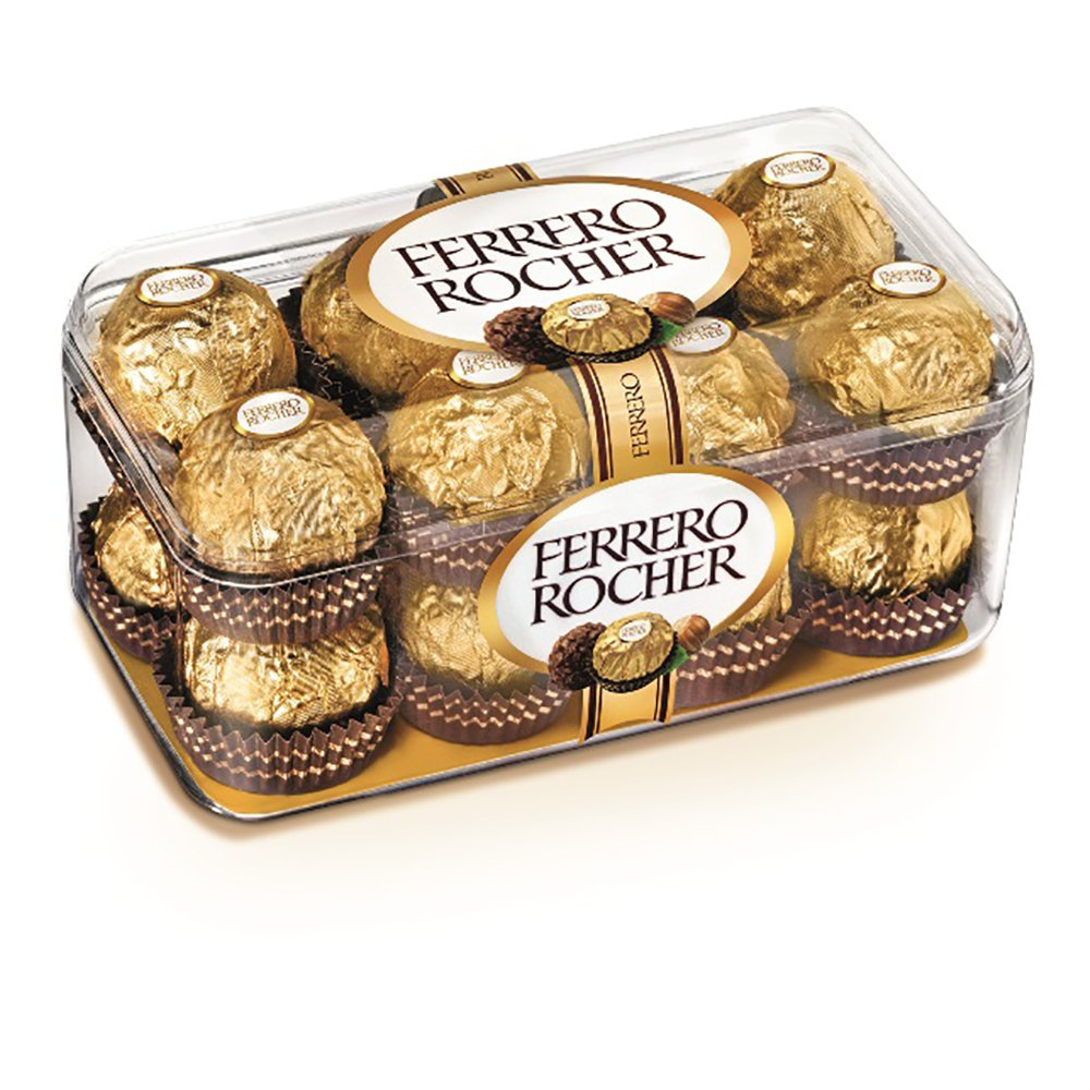 Praline de ciocolata Ferrero Rocher, 200 g imagine