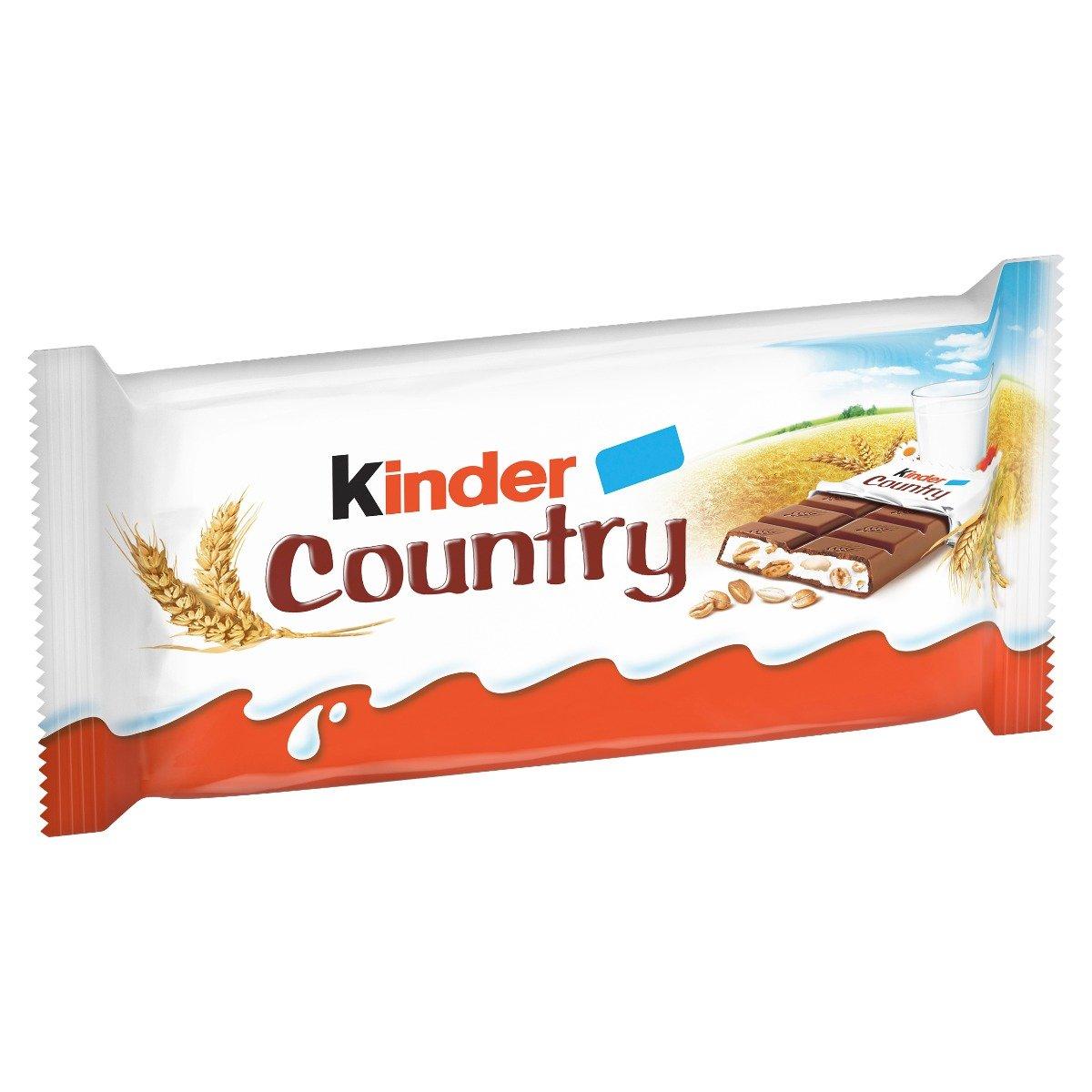 Batoane de ciocolata Kinder Country, 4 buc x 24 g imagine