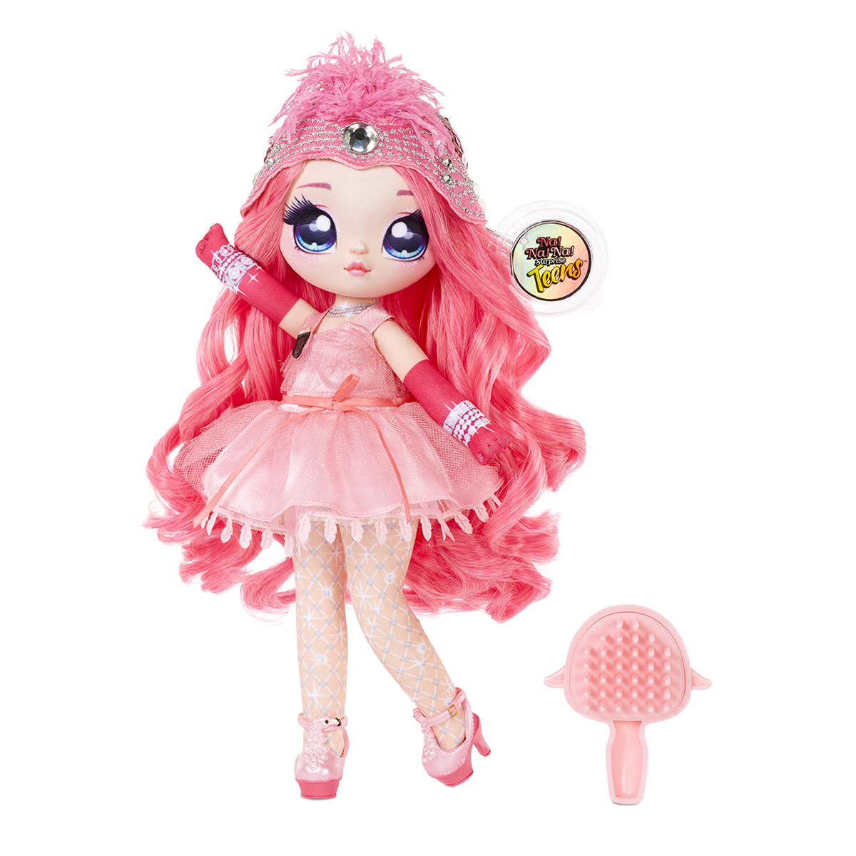 Na Na Na Surprise Teens, S1, Papusa Fashion Coco Von Sparkle, 572596