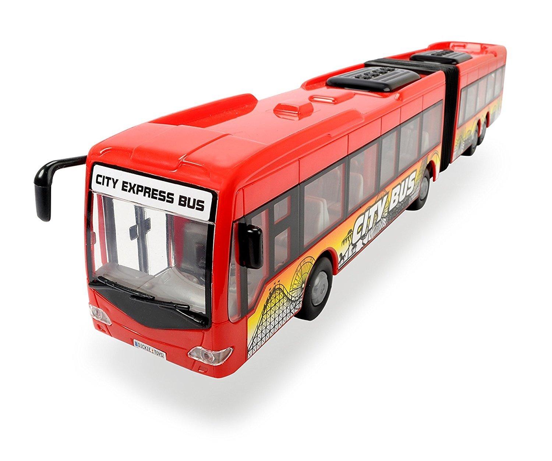 Autobuz Dickie Toys - City Express Bus, rosu