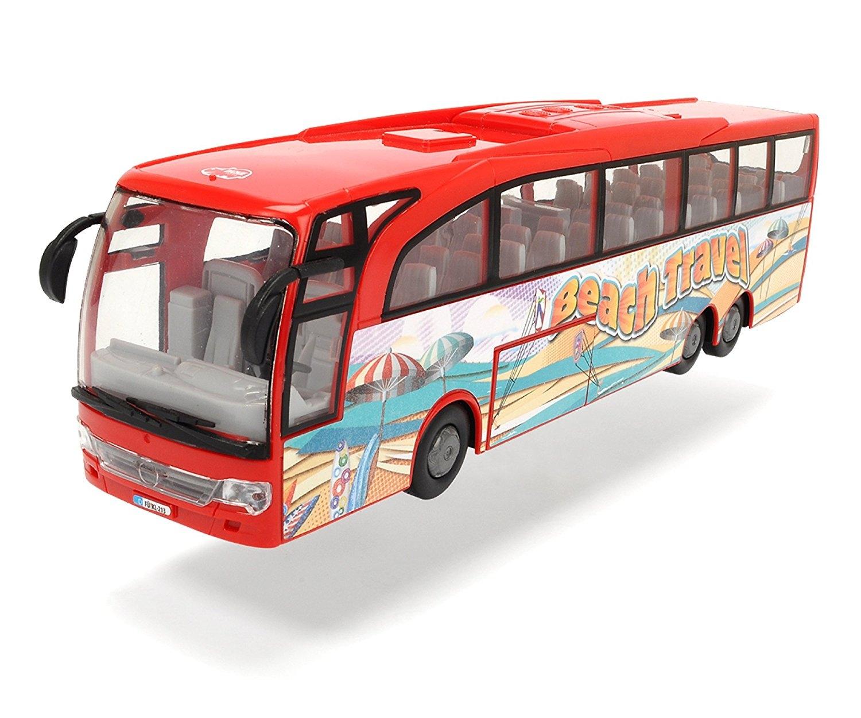 autobuz dickie toys -touring bus, rosu