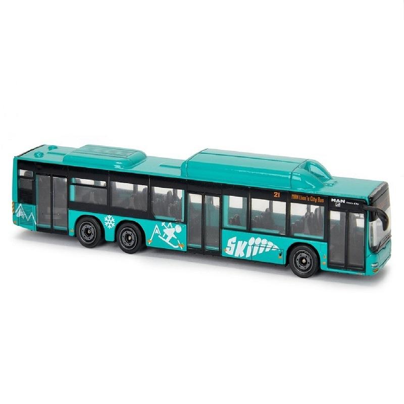 autobuz man city bus c, verde