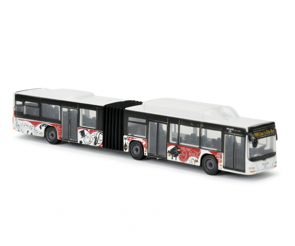 autobuz man lion's city bus, alb