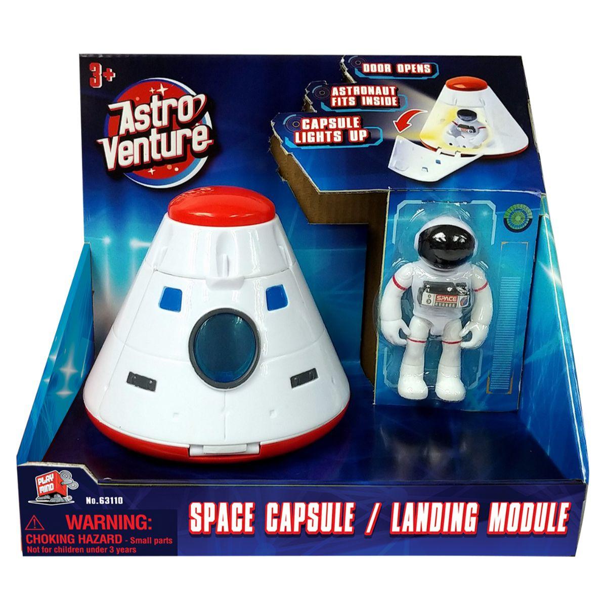 Capsula spatiala si figurina astronaut Astro Venture