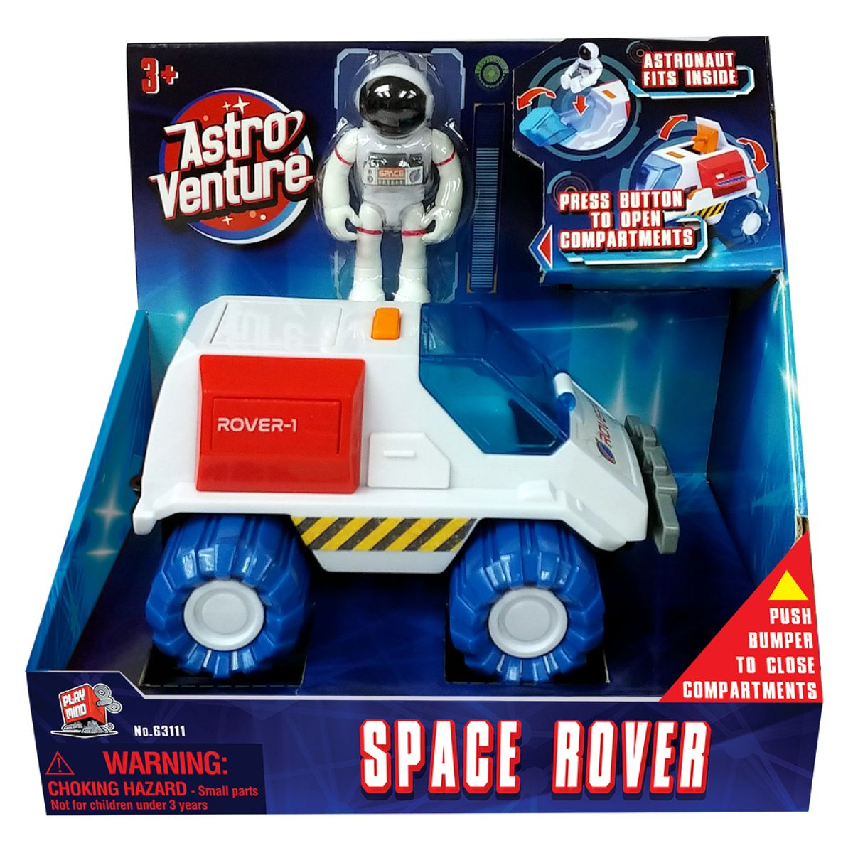 Vehicul spatial si figurina astronaut Astro Venture