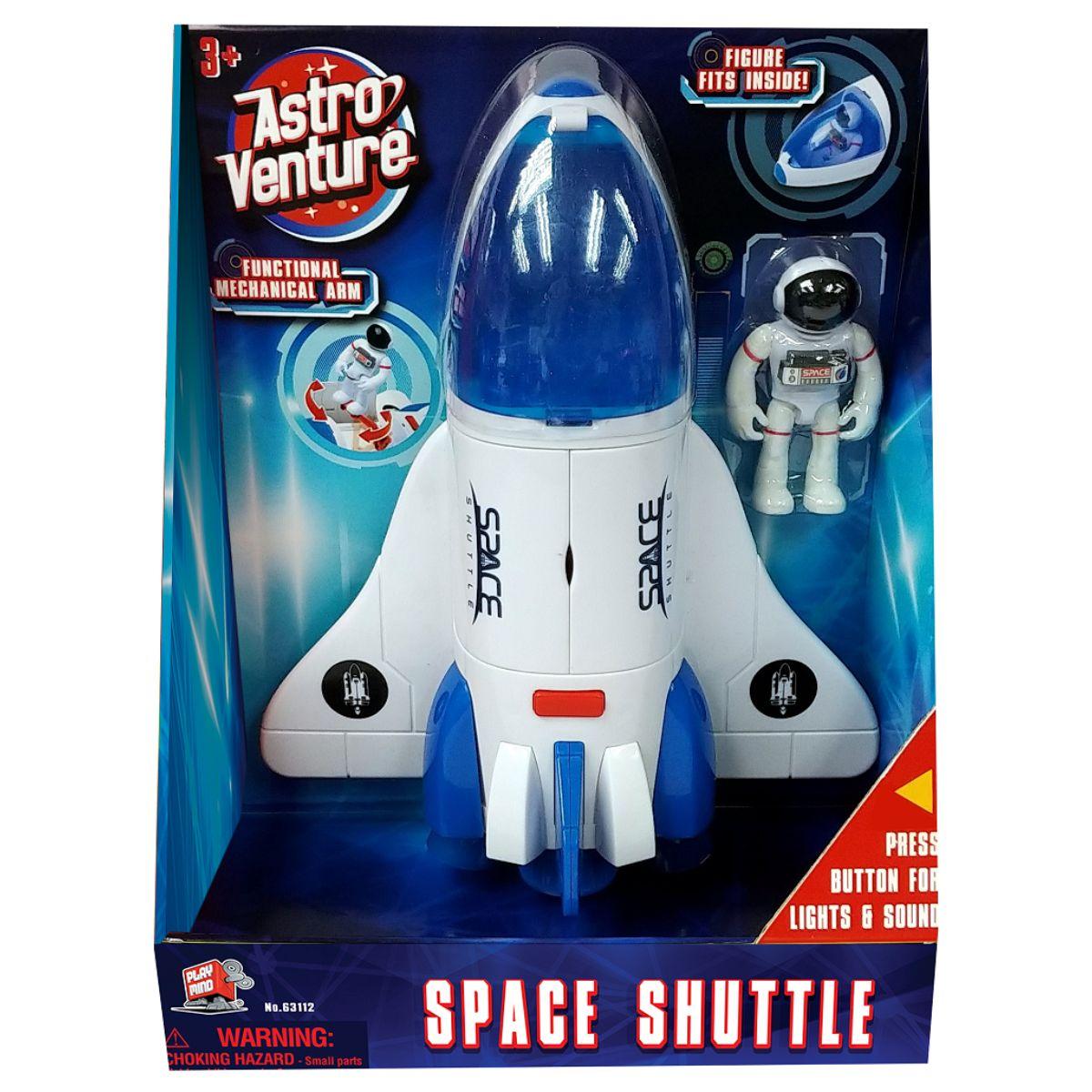 Naveta spatiala si figurina astronaut Astro Venture