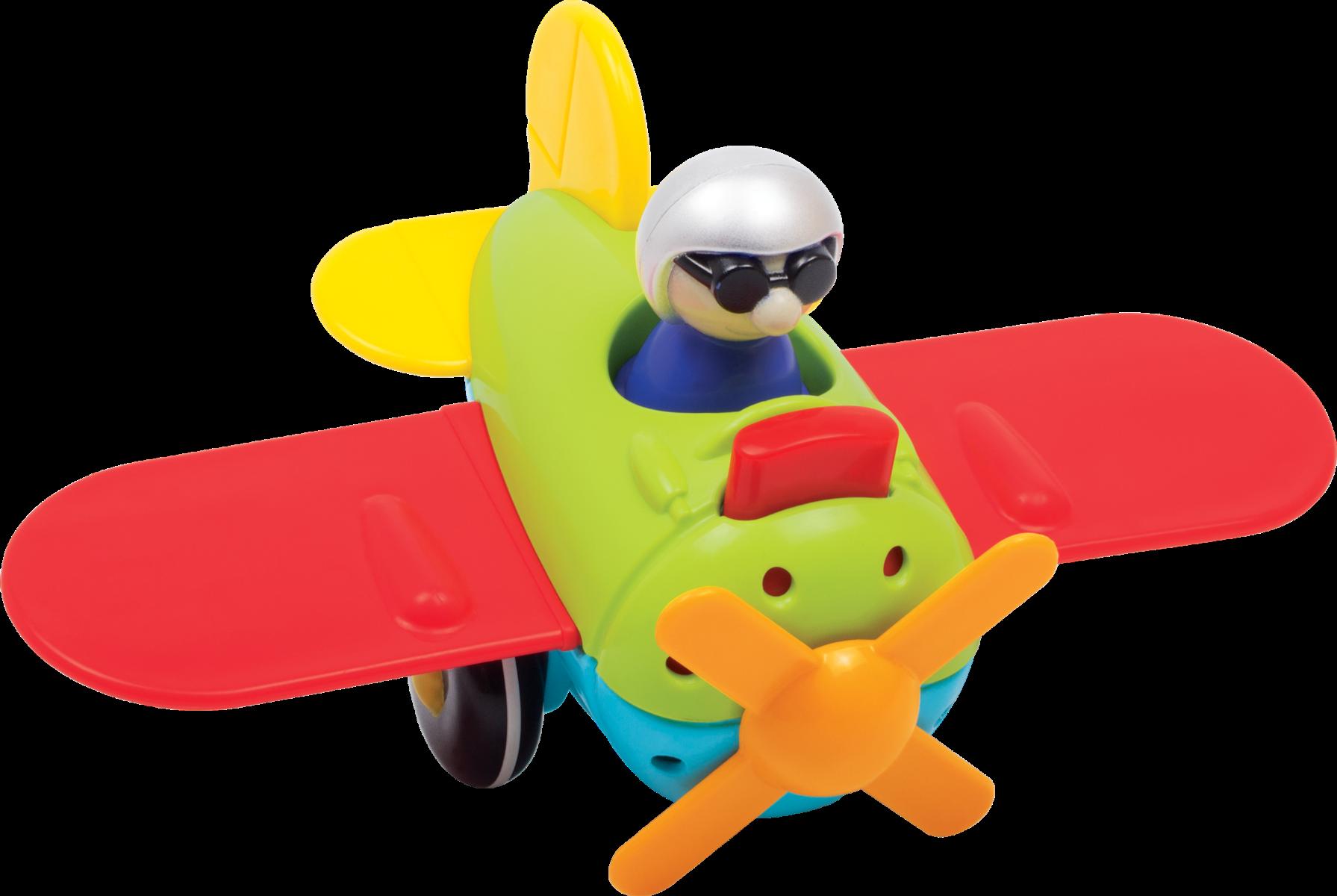 Jucarie Bebelusi Noriel Bebe - Avion De Construit