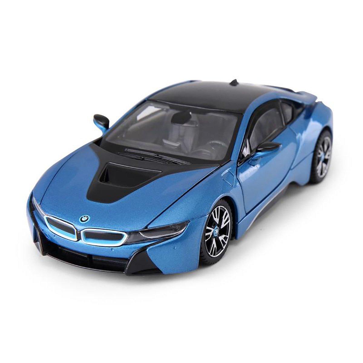 Masinuta Rastar BMW I8, Albastru, 1:43