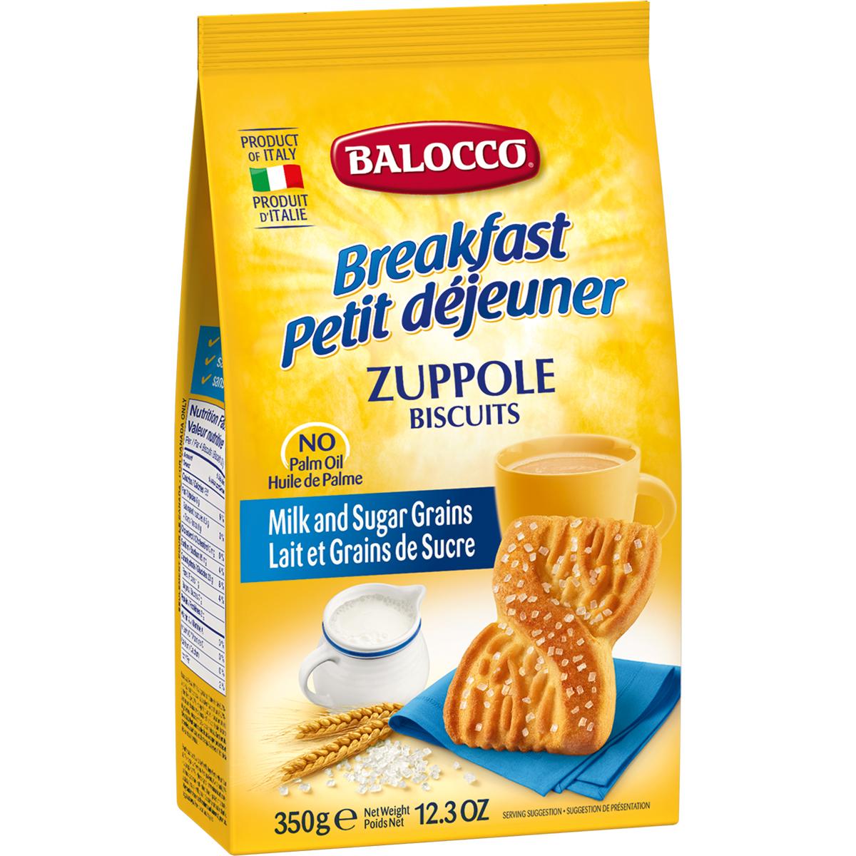 Biscuiti cu lapte Balocco Zuppole, 350 g imagine