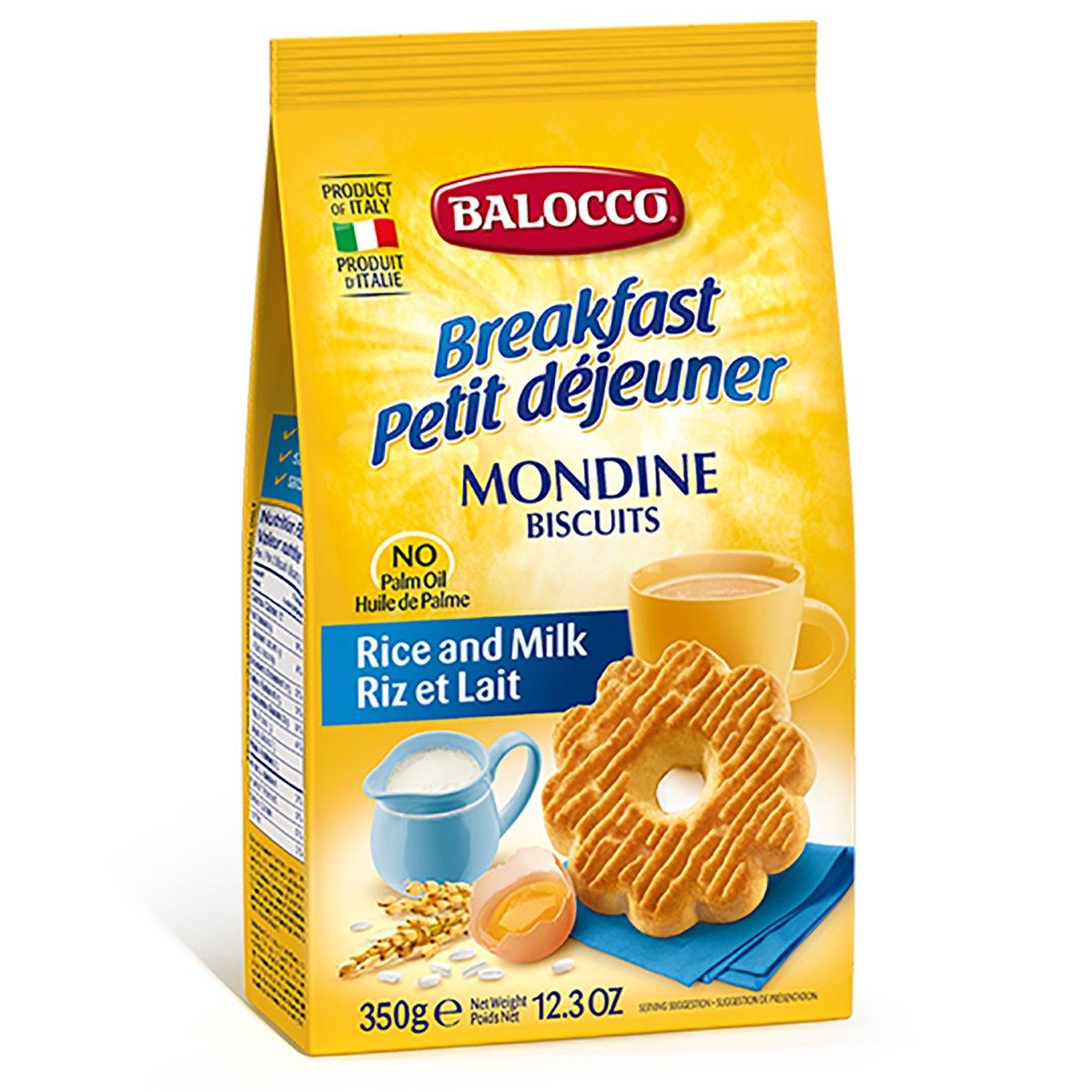 Biscuiti cu lapte Balocco Mondine, 350 g imagine