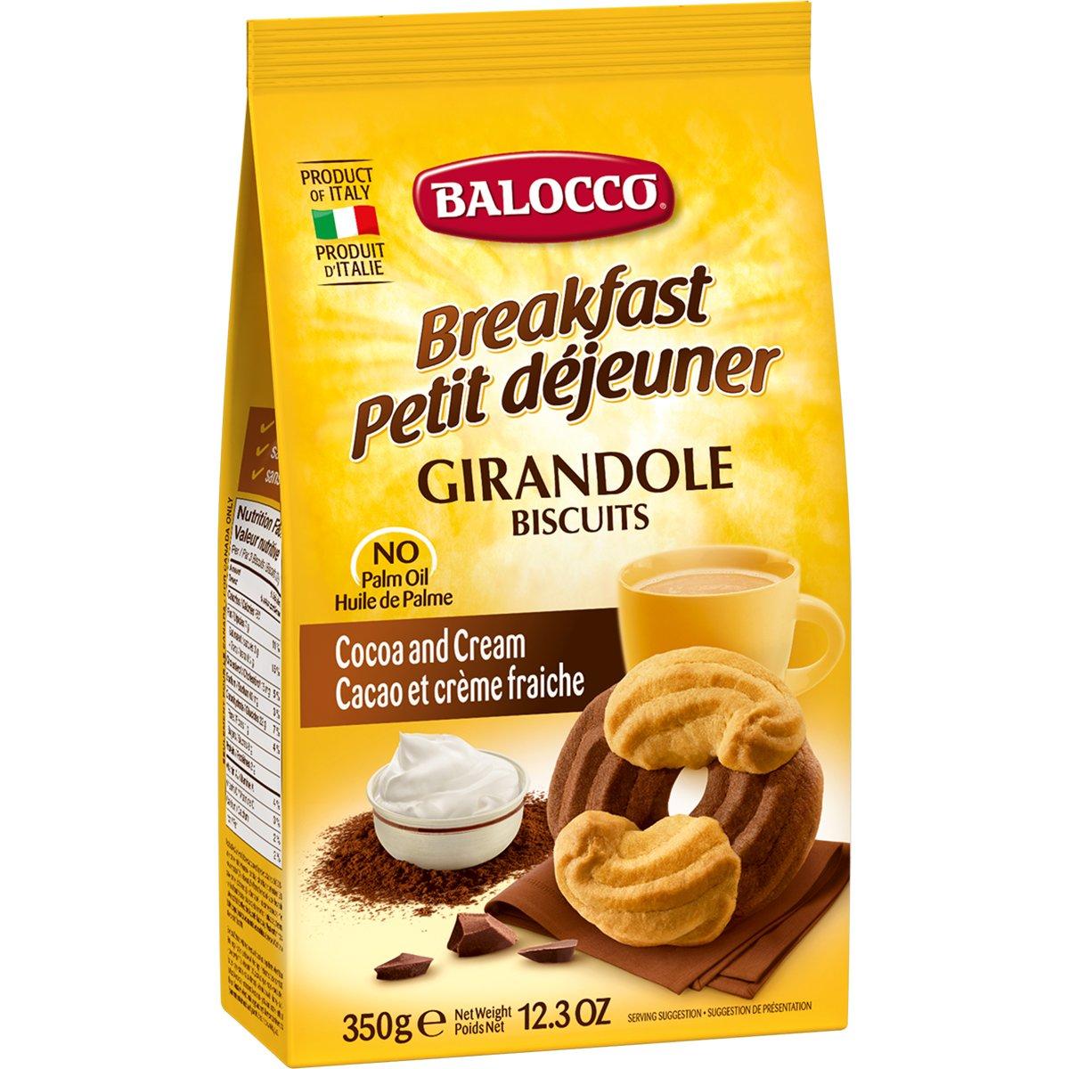 Biscuiti cu cacao Balocco Girandole, 350 g imagine
