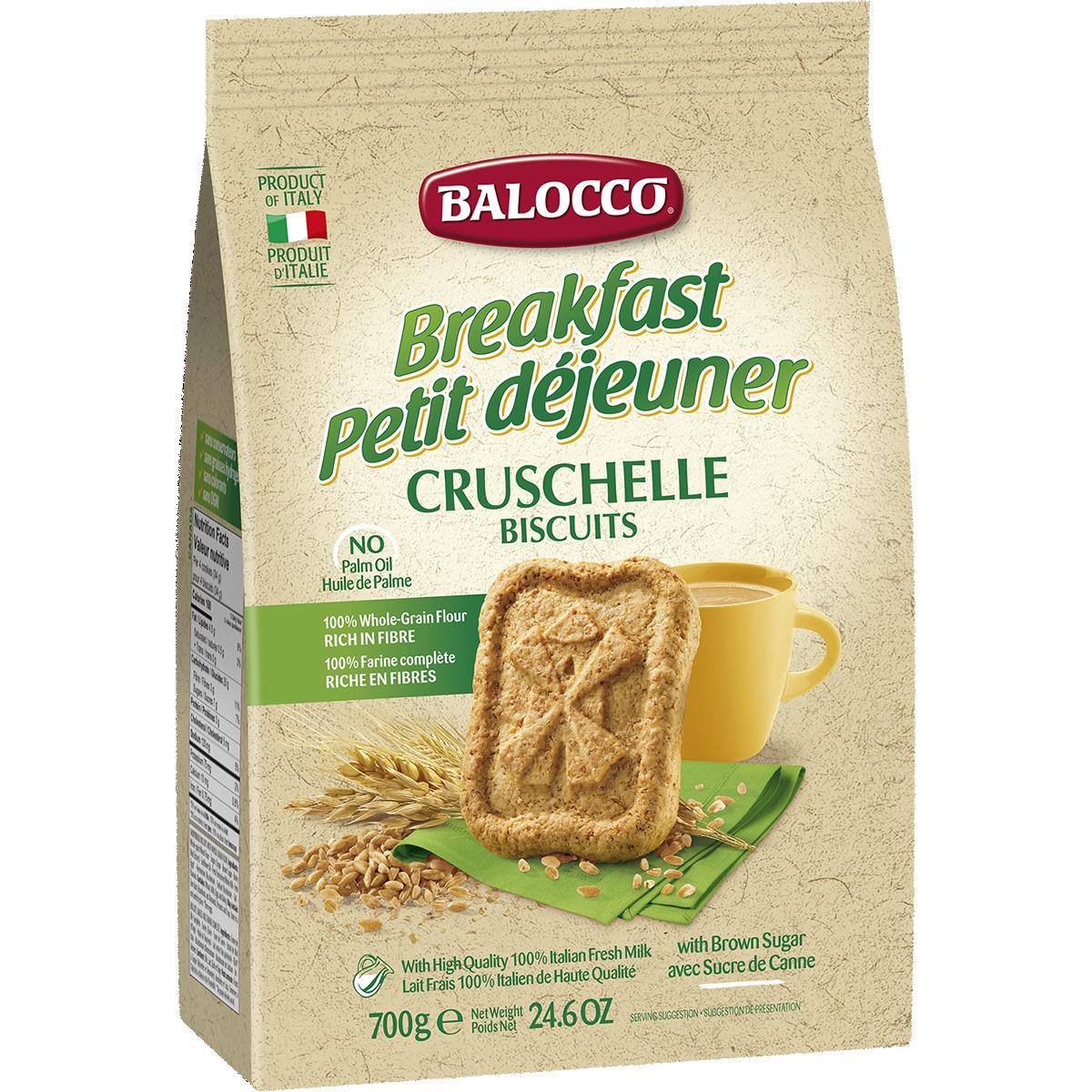 Biscuiti integrali Balocco Cruschelle, 700 g imagine