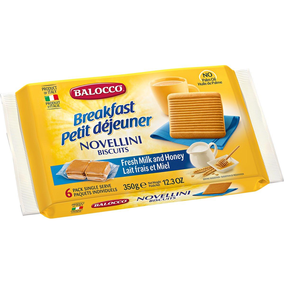 Biscuiti cu miere Balocco Novellini, 350 g imagine
