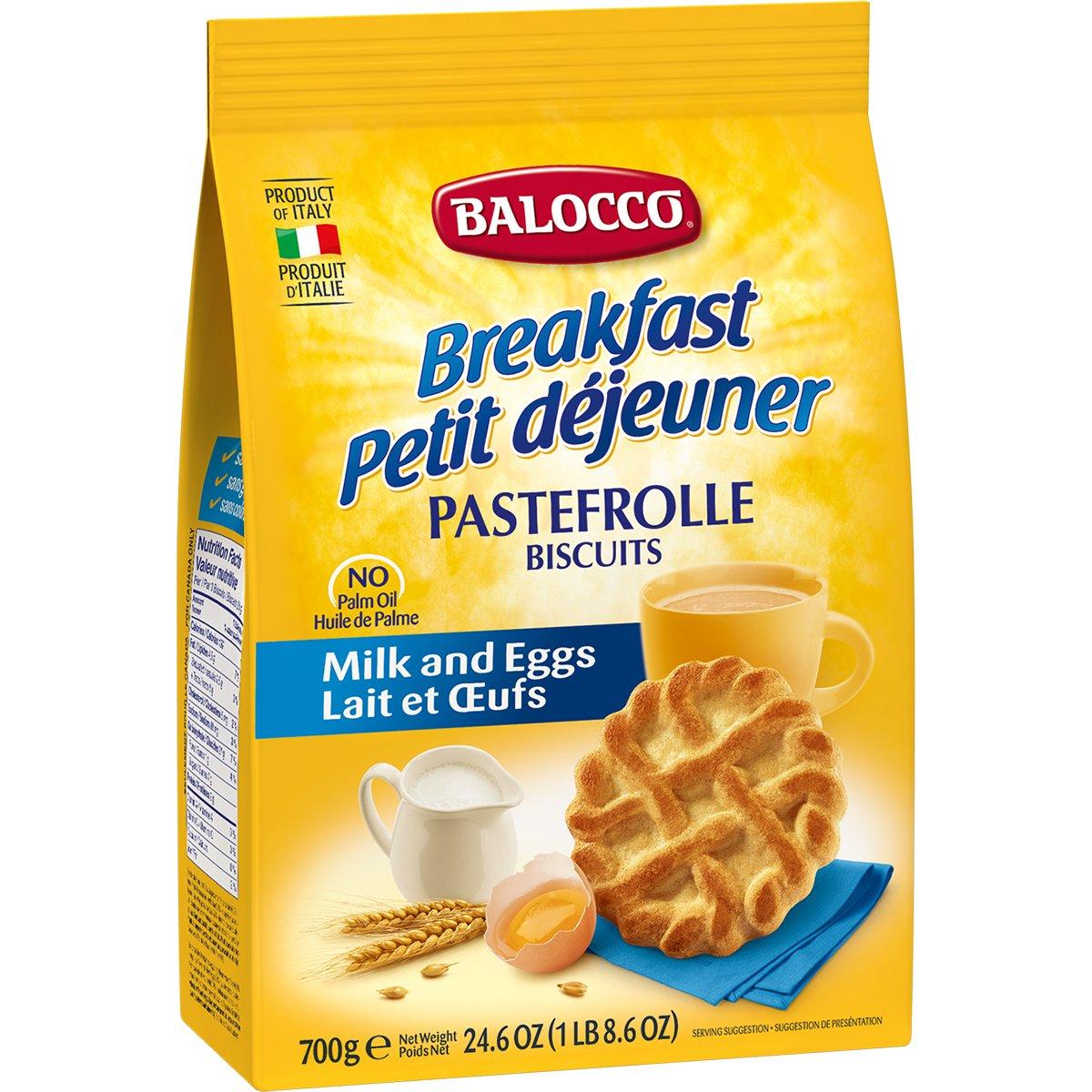Biscuiti cu lapte si ou Balocco Pastefrolle, 700 g imagine