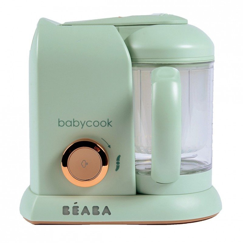 Robot de gatit cu aburi Beaba Babycook Solo Matcha