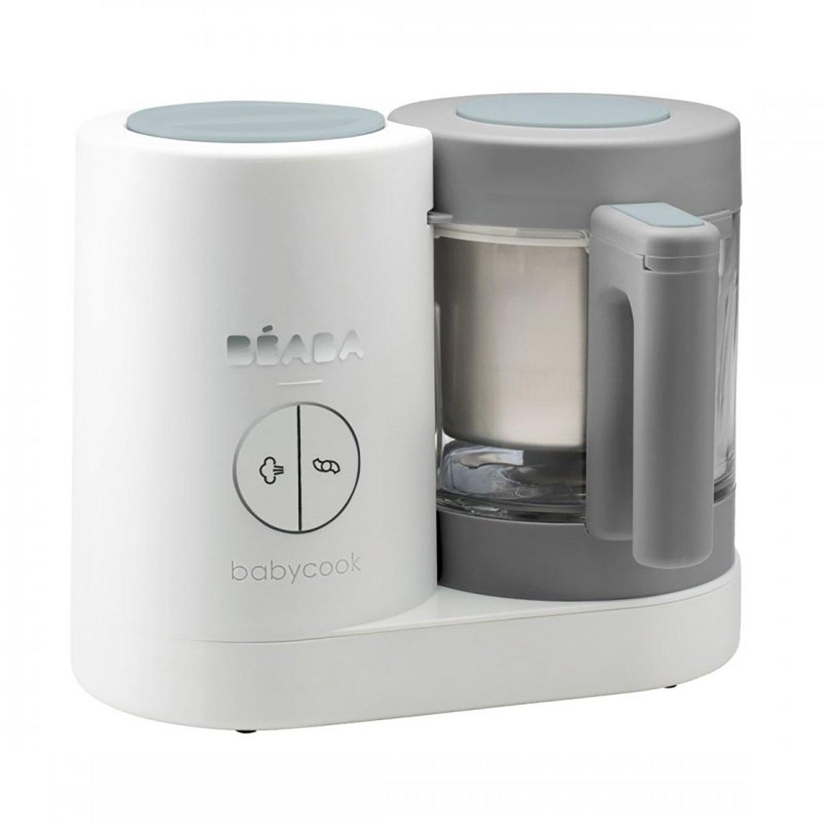 Robot pentru gatit Beaba Babycook Neo White Grey imagine