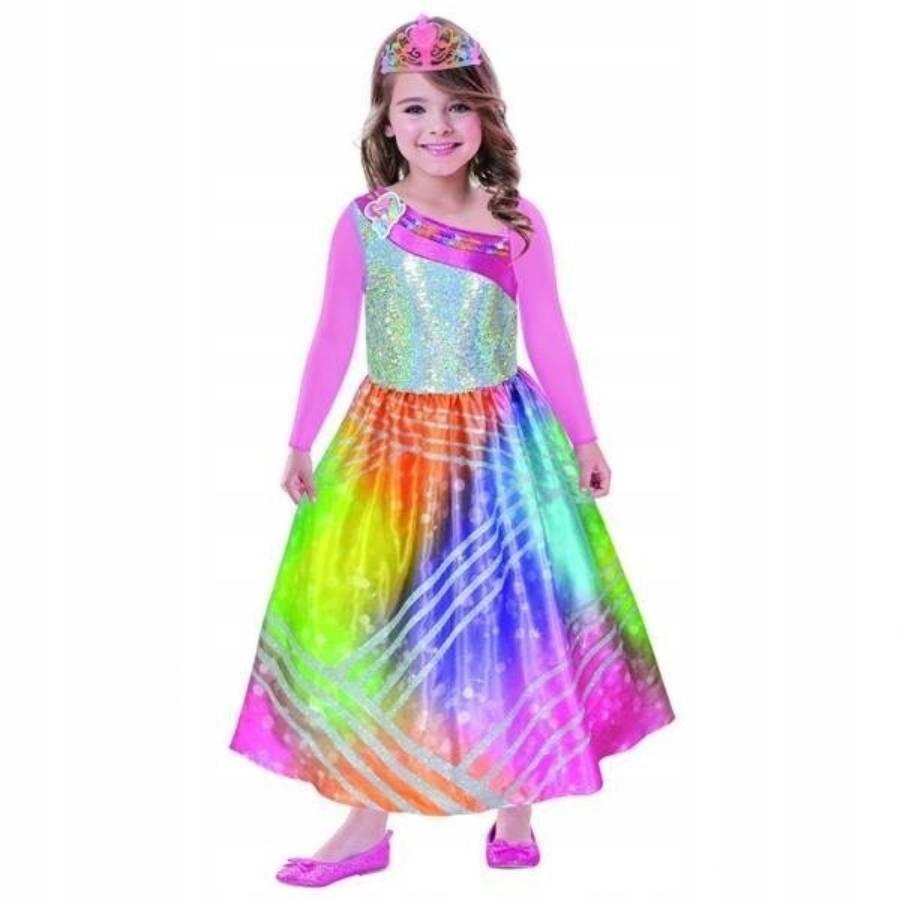 Costum de petrecere Barbie Rainbow Magic