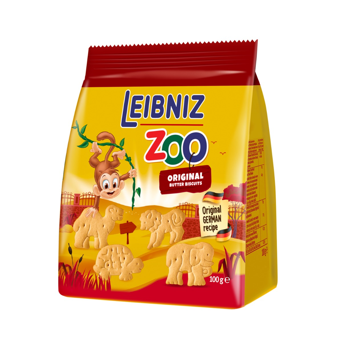 Biscuiti Leibniz Original Zoo, 100 g imagine