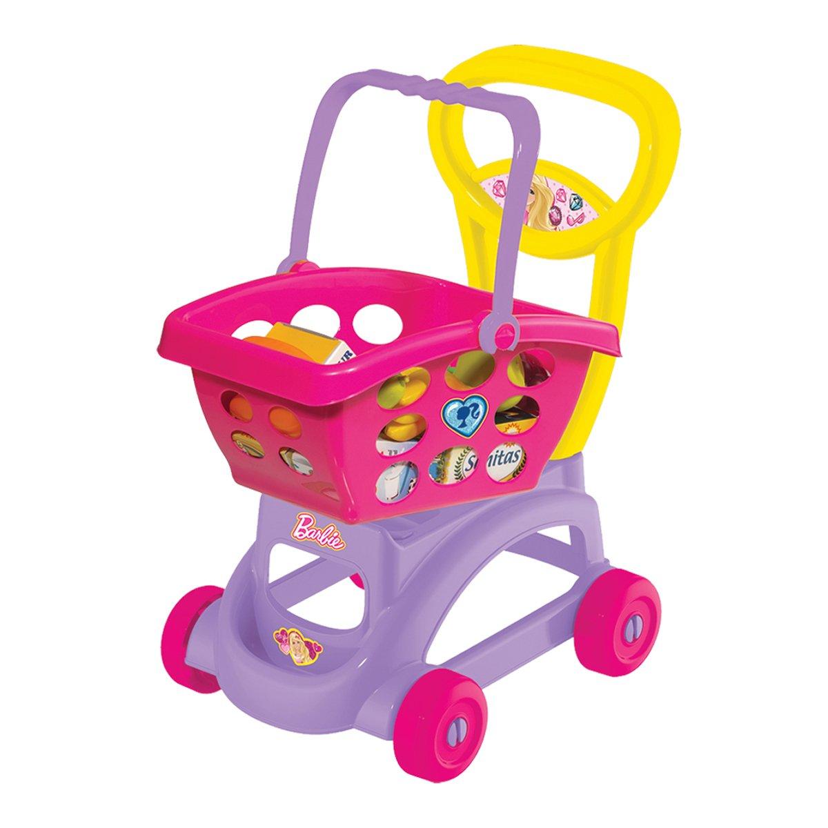 Barbie - Set supermarket si Cos cumparaturi