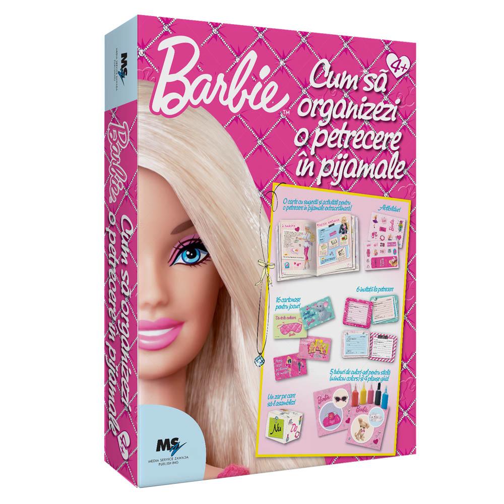 set barbie – cum sa organizezi o petrecere in pijamale